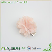 Wholesale Colorful Fabric Flower Alligator Clip For Kids Hairpin / Barrette