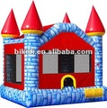 inflatable colorful castle,Bikidi jumping castle B1117