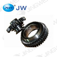 Alloy material steel right hand buggy helical gear spare part of vehicle gearbox