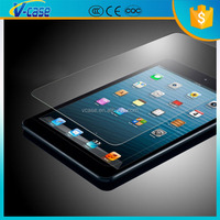 Newest ultra clear explosion proof 9H hardness 2.5D design tempered glass screen protector for ipad air