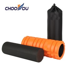 Hot sale 2 in 1 EVA Grid High Density Hollow Exercise Yoga Foam Roller