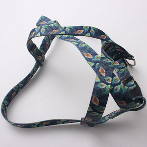 China high-end professional custom sample free durable pet dog harness