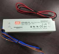 CE factory 150w regulated dc 12v 5v LED driver meanwell power supply