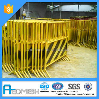 AEO Customized Made Construction Safety Barricade, Road Temporary Barrier