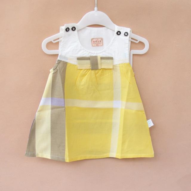S63803A 2016 Baby Girls Summer Dress Infant Romper Dresses Toddler Girls Birthday Party Dresses