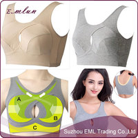 2015 Sports bras Big yards of cotton yoga running vest,fashionable sports bra