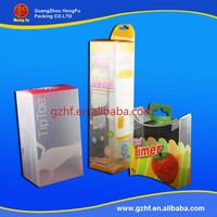 Customized small plastic folding box,pvc box packing with tailor-made