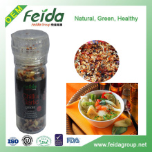 Hand commercial industial chili pepper & garlic plastic grinder