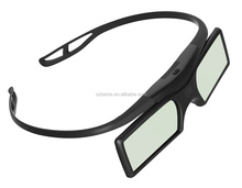high quality active shutter 3d dlp link 3d glasses