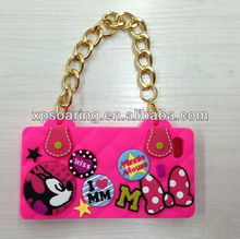 for iphone 5 Fancy Chain handbag silicon case cover