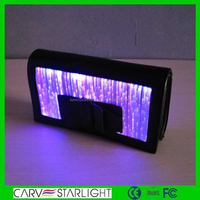 Alibaba China Supplier of Newest Glowing Leather Vintage Funky Nice Handbags