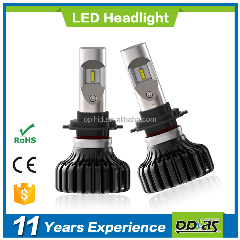 Best price Guangzhou auto parts F8 H7 high power super bright led car light headlight