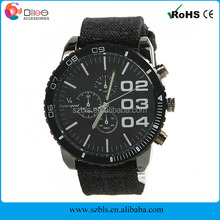 New Arrival High Quality Fashion Men's V6 Super Speed Quartz Sport Big Dial Casual Leather Wrist Watch