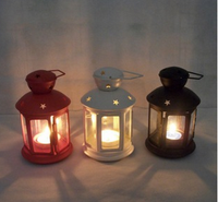 mini star shape chinese wooden lantern lamp with hanger