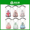 Girls Canvas Printing Drawstring Bag Backpack