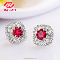 Wholesale simple design 925 sterling silver earring for women,fashion silver earring Manufacturer