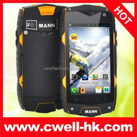4 Inch Quad Core MANN ZUG 3 Dual SIM IP67 Waterproof Rugged Android Mobile Phone