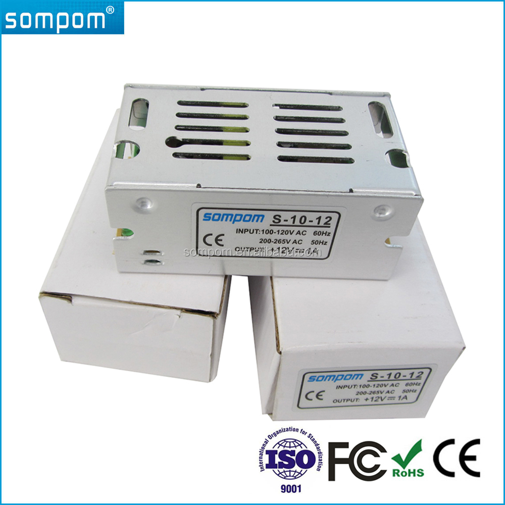 Sompom Constant Voltage Switching Power DC 12V 1A 15W Led Driver