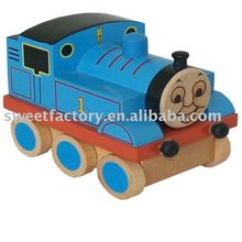 Popular kids wooden thomas train toy