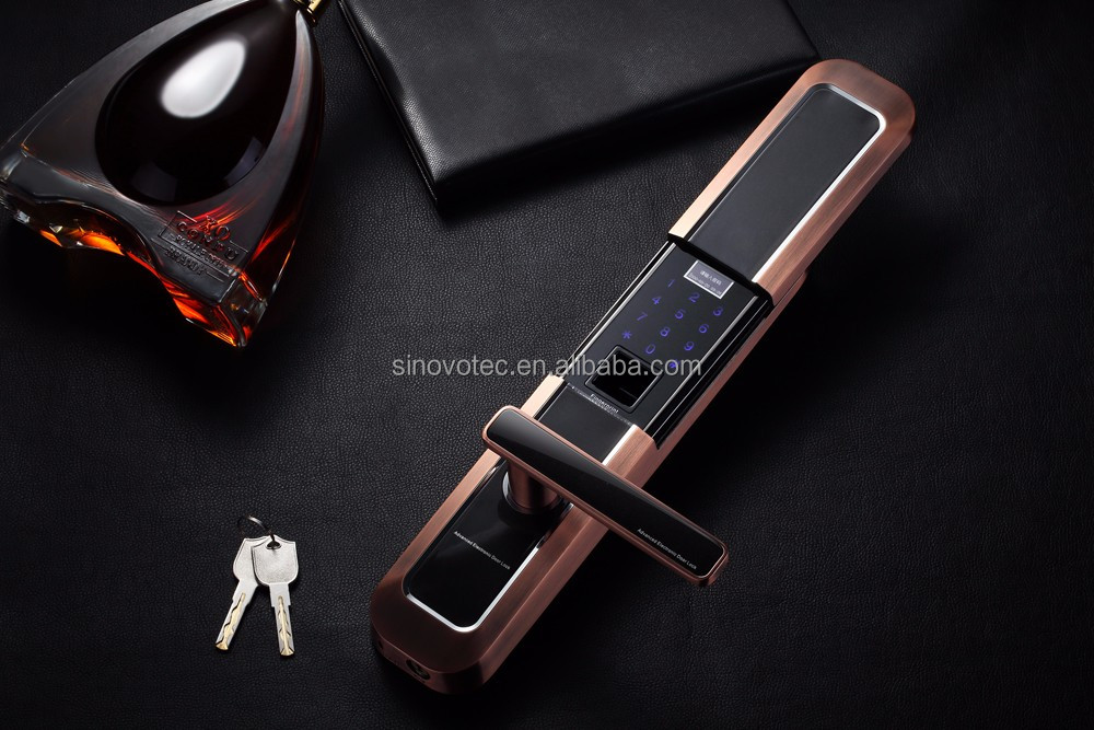 electronic mortise locks body fingerprint and password protected function