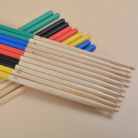 Maple Wood Drum Sticks Drumsticks 7A 5A for Music Band Drummer