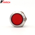 Red Light Stainless Auto-dial Button for Weatherproof Emergency Telephone