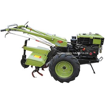 Mini 7-10hp diesel or gasoline power garden tiller cultivator