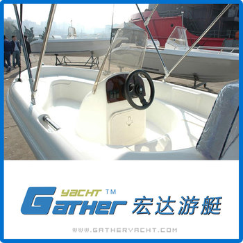 Gather Excellent Material Alibaba Suppliers Low Price Fiberglass fishing Boat