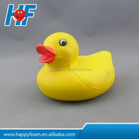 pu duck promotional gifts stress relievers duck anti stress