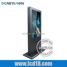 42 inch Digital Signage Touch Screen wifi/3G/Android/internet LCD LED Shopping mall advertising kiosk Advertising Display