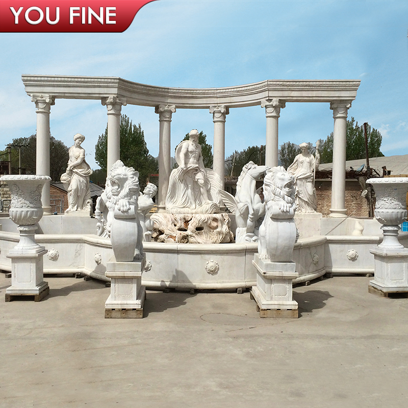 Outdoor Marble Big Water Fountains