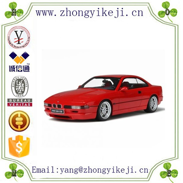 chinese factory custom made handmade carved fashion hot new products resin diecast model car 1:18