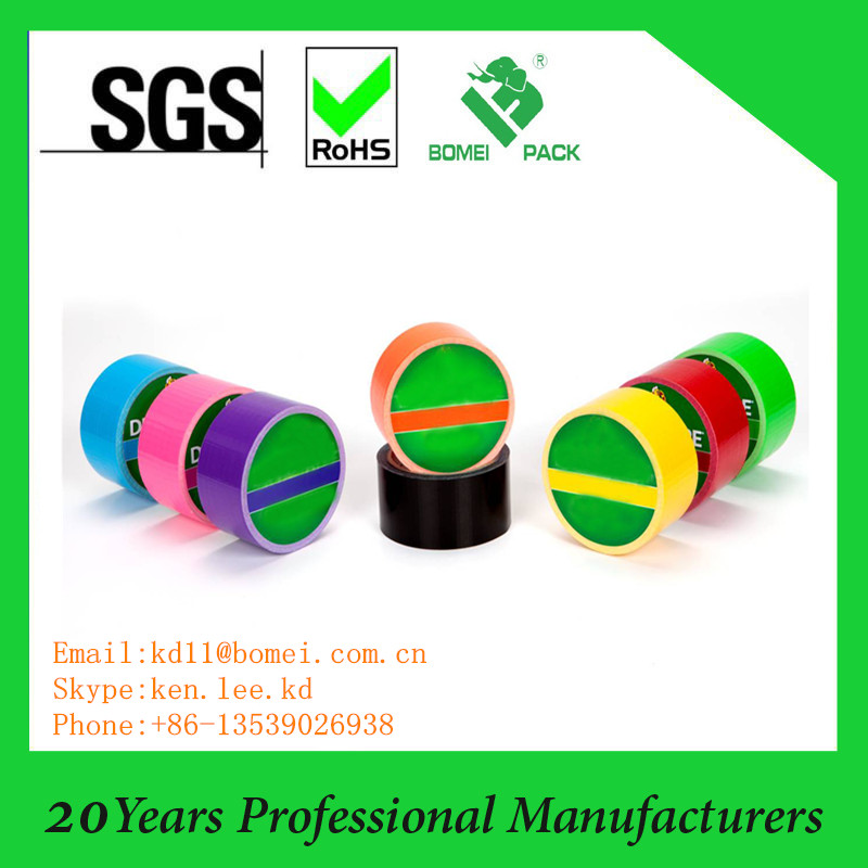 Dongguan bomei colored stationery tape made in china
