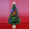 LED Fiber Optic Christmas Trees as Traditional Christmas Decorations