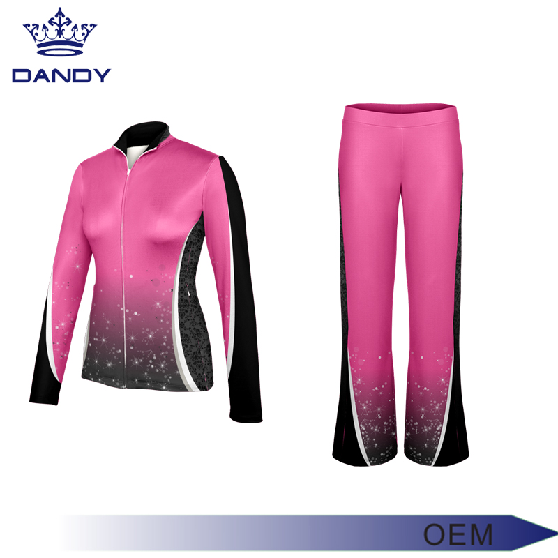 Professional warm up suit sublimation custom tracksuit / products for sublimation