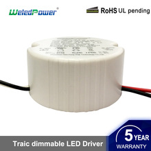 Plastic Constant Current 18-22W Led Ceiling Light Led Driver