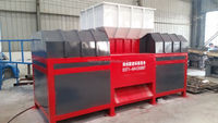 plastic rubber machinery cost of plastic recycling machine shredder machine HD-1000