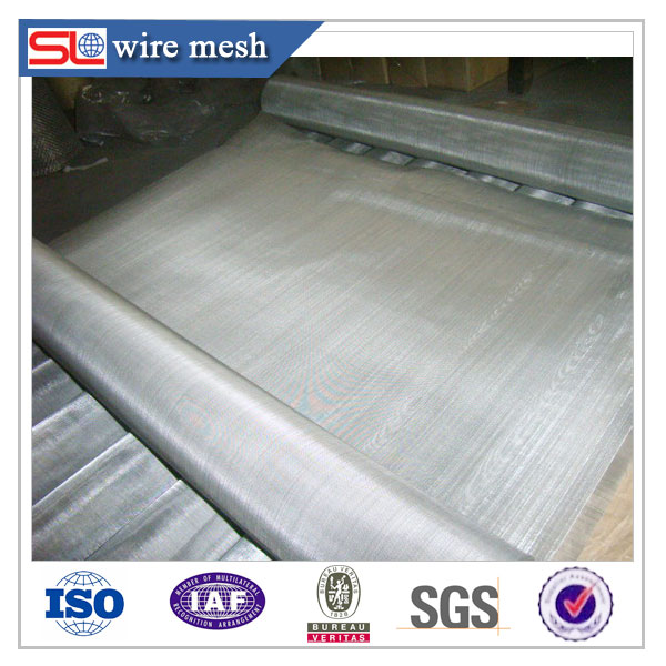 stainless steel crimped wire mesh / stainless steel wire mesh belt conveyor