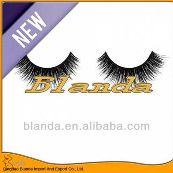 New styles 100% real silk mink eyelashes