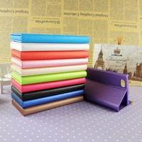 Slim leather mobile cell phone wallet case for iphone 4 5 6 plus with credit card holder wholesale