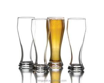 2019 Best Selling Soho Heavy Glasses/Set of 4 Glass beer mug/Crystal 14 oz Craft Beer Glass for Beer Drinking Enhancement
