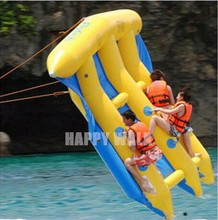 Most exciting inflatable kayak flying manta ray on lake flying raft boat for outdoor water games on shallow lake or sea for sale