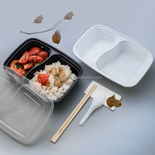disposable divided food plastic containers
