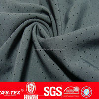 manufactures in china ,shaoxing textile nylon spandex stretch mesh fabric for sportswear