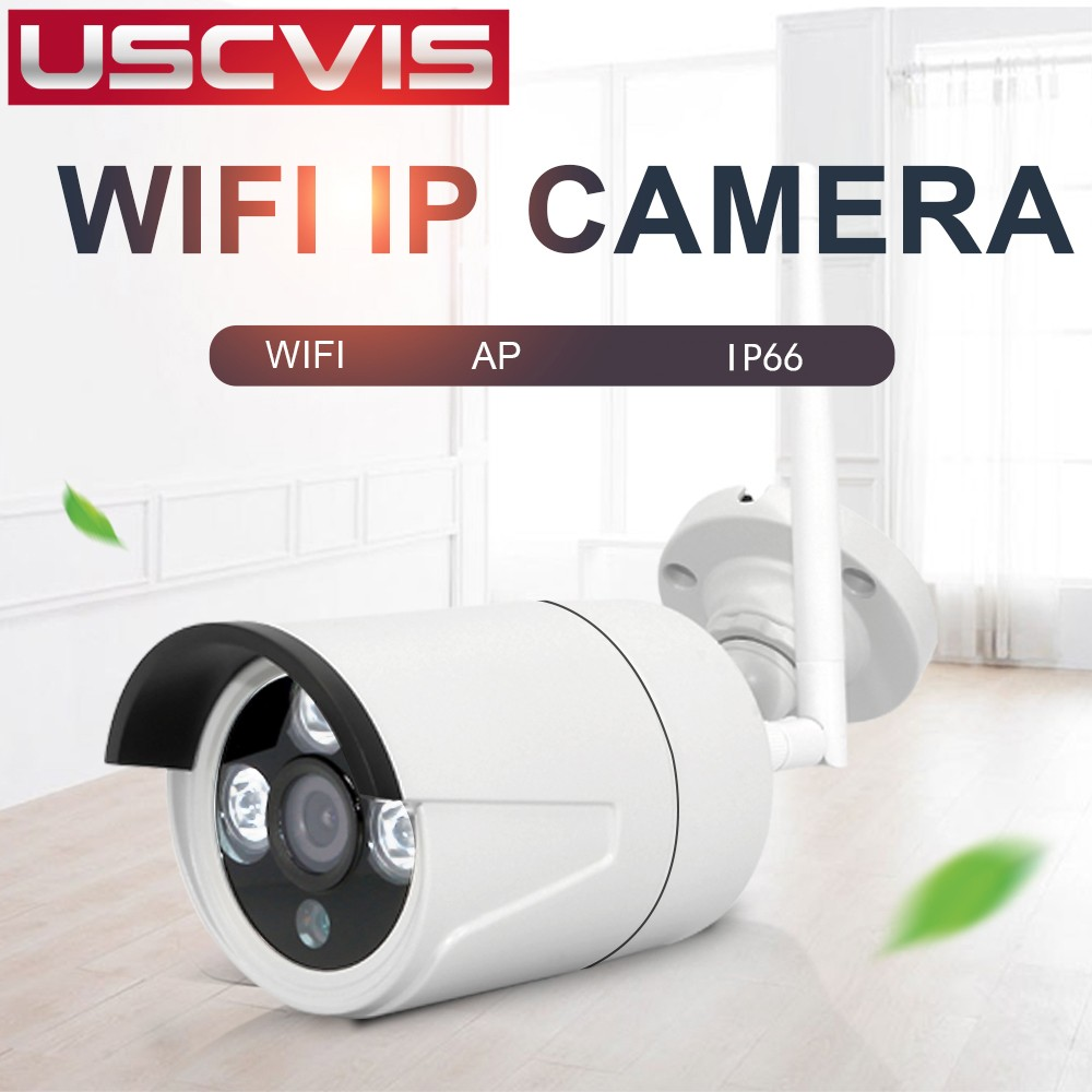 usc high quality hd ip66 waterproof infrared surveillance v380 p2p wireless security cctv outdoor ip wifi camera