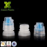 Plastic Spout Top Cap with Flip Top Cap for Sport Drinking Pouch