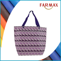 Recycled laminated polypropylene plastic tote shopping pp woven bag