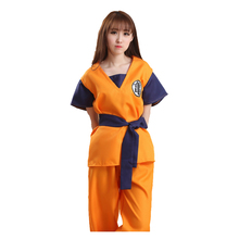 High quality carnival Japanese anime Dragon Ball sexy cosplay party costume for women