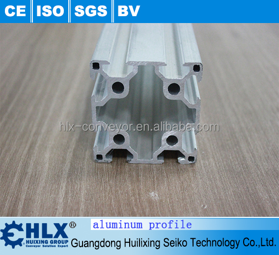 Low MOQ T-slot aluminum profile for c-beam rotary with high quality