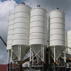Steel Feed Silo Cost for Sale, Fly Ash & Cement Silo with Low Cost